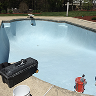 Before Pool Repair